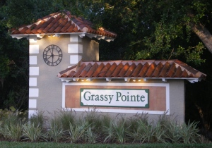 Grassy Pointe Entrance